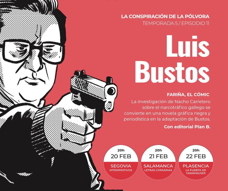 """Presentación de la adaptación al cómic de """"Fariña"""" en Segovia"""