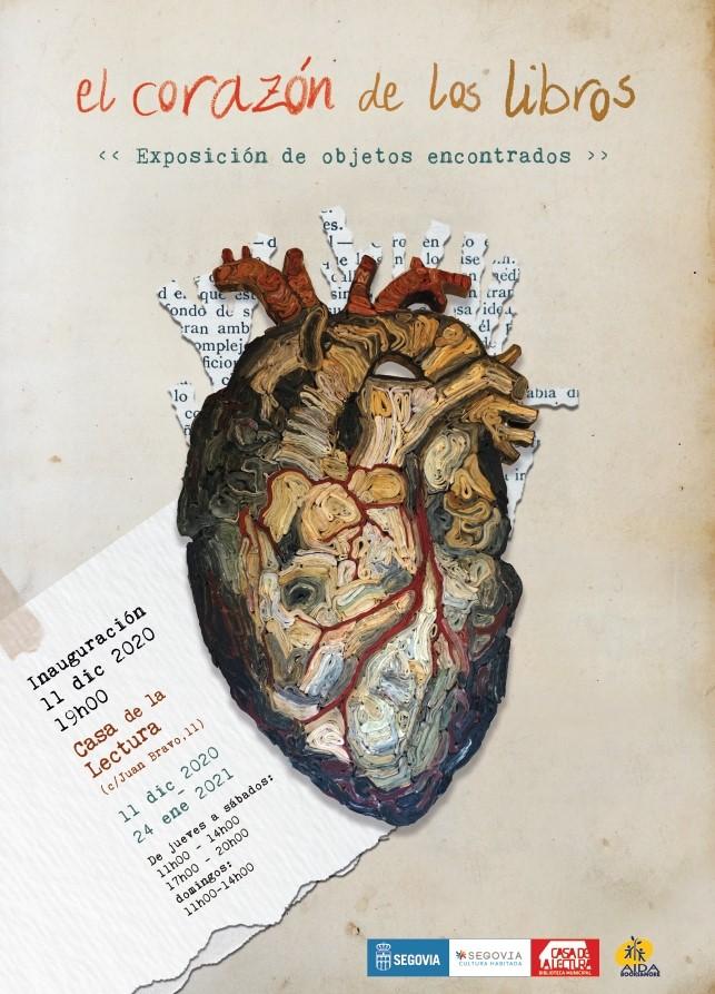 Exposición El corazón de los Libros