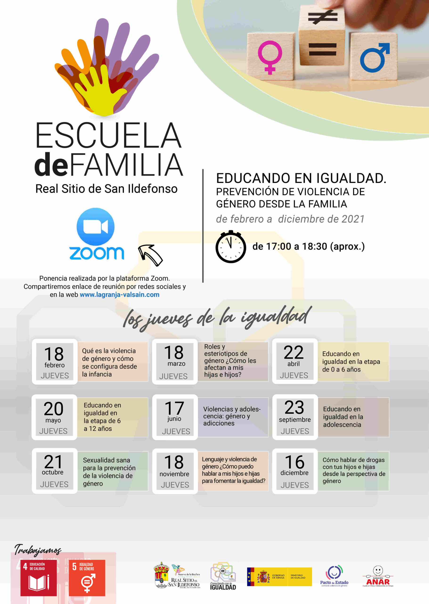Escuela de Familia de La Granja de San Ildefonso
