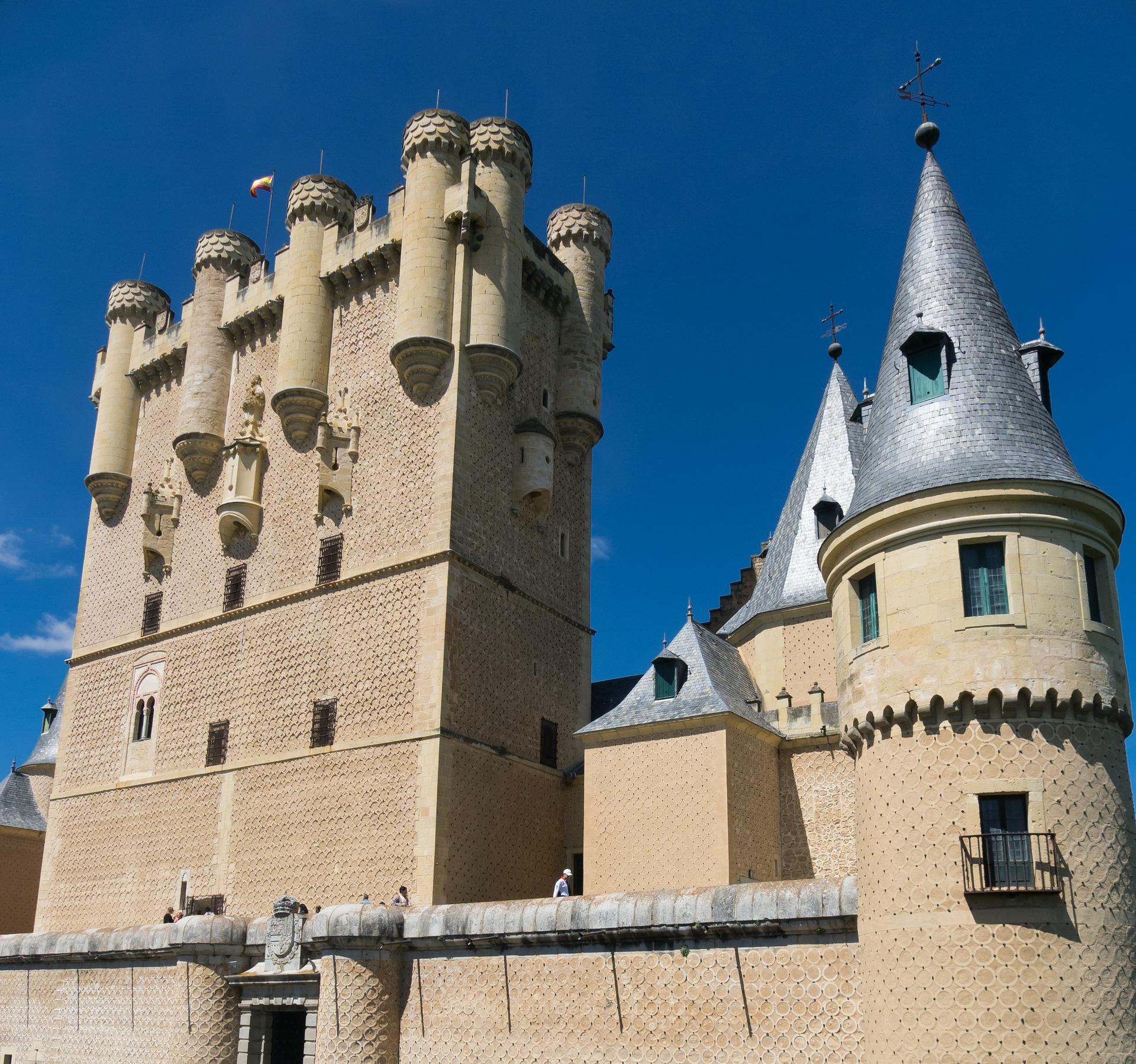 Alcázar de Segovia en Semana Santa 2021