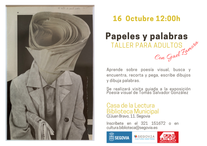 Taller Papeles y palabras